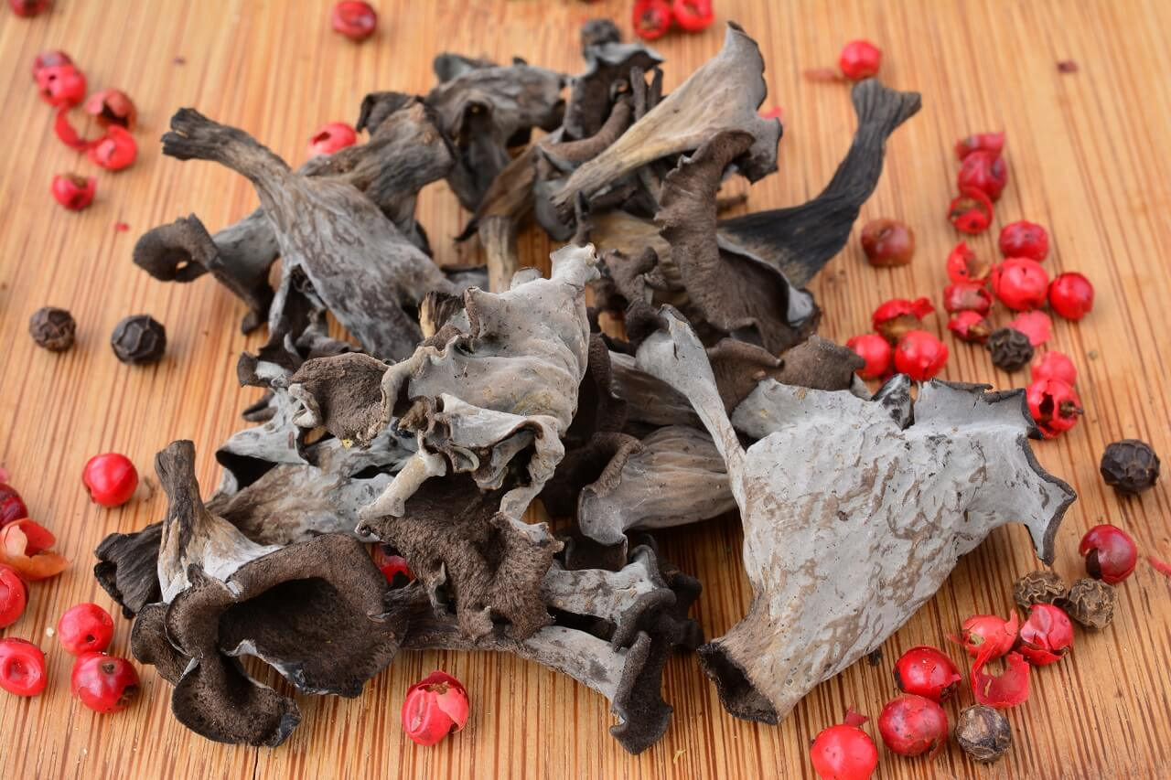 how to tell when black trumpet mushrooms gone bad